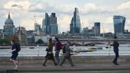 Ja, wo laufen sie denn? Am 23. Juni stimmen auch die Londoner über die EU-Mitgliedschaft Großbritanniens ab.