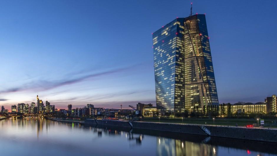 Im Pandemie-Bekämpfungsmodus: die EZB in Frankfurt