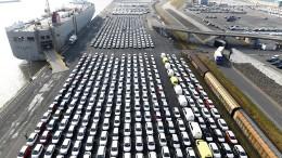 EU-Kommission will schnelle Handelseinigung mit Amerika