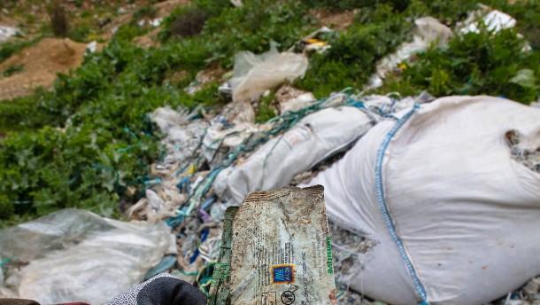 Türkei stoppt Einfuhr von Europas Plastikmüll
