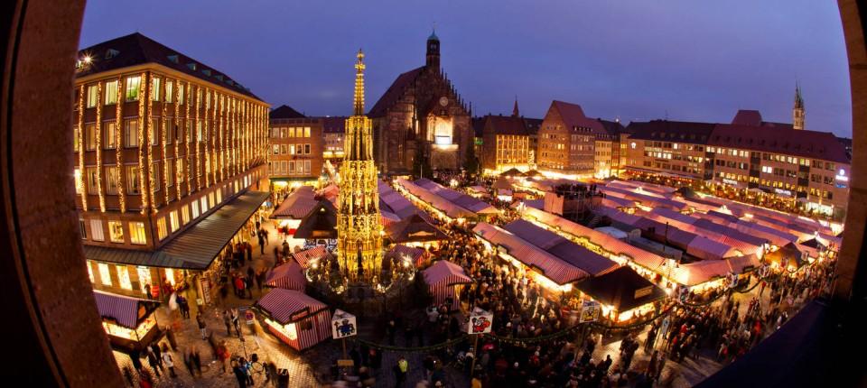 Weihnachtsmarkt Nürnberg.Vorbilder Exportschlager Deutscher Weihnachtsmarkt Unternehmen Faz