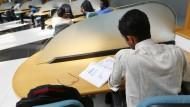 Lernen und arbeiten: Auf dem Campus der Infosys Universität in Bangalore.