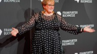 Willkommen im Paradies für Schriftsteller und Schriftstellerinnen: Die norwegische Kulturministerin Trine Skei Grande bei der Eröffnung der Frankfurter Buchmesse am 15. Oktober 2019.