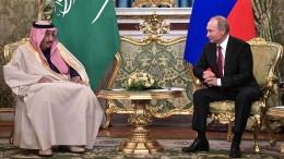 Moskau wirbt um saudische Petrodollars