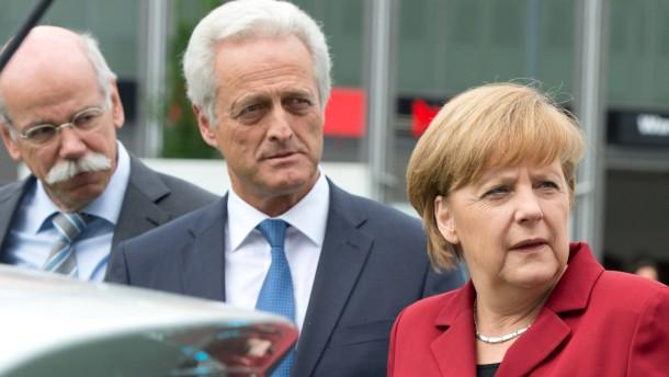 Diplomaten in Daimlers Diensten