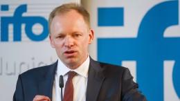 Amerikas Steuerreform hilft Europa kurz, sagt der Ifo-Chef