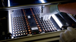 Altmaier: Wir werden eine Batteriezellen-Fabrik in Deutschland bauen