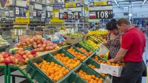 Importverbot trifft russische Mittelschicht