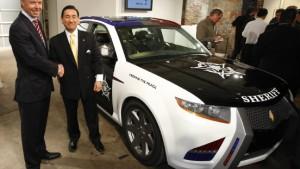 BMW soll Motoren für Polizeiautos bauen