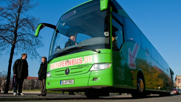 "Start der Fernbuslinie ""MeinFernbus.de"""