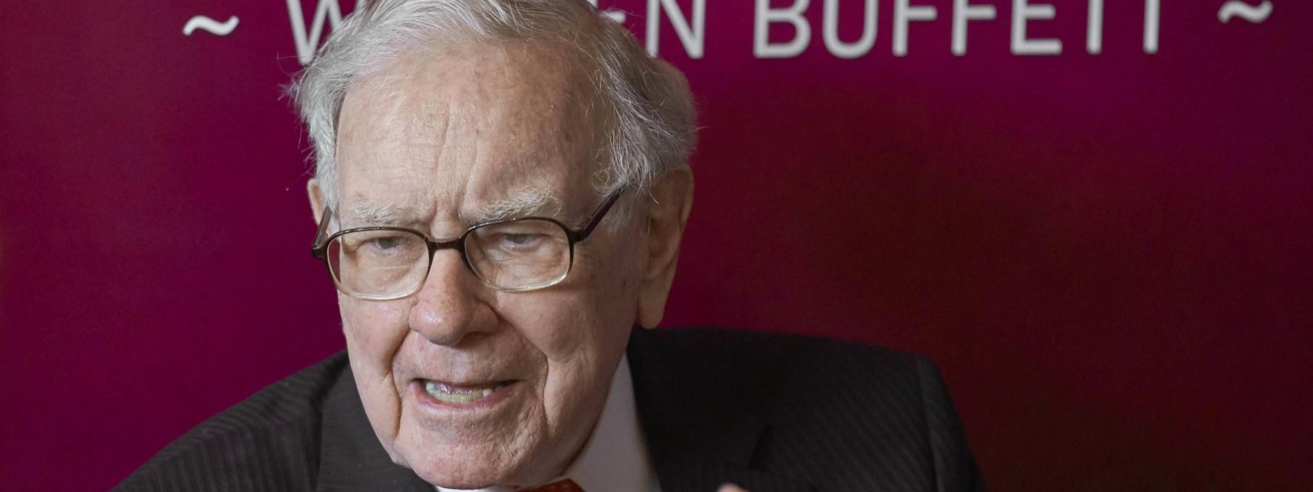 Warren Buffetts Investmentfirma mit hohem Gewinn