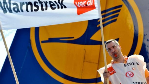 Streik bei Lufthansa in der Urlaubszeit