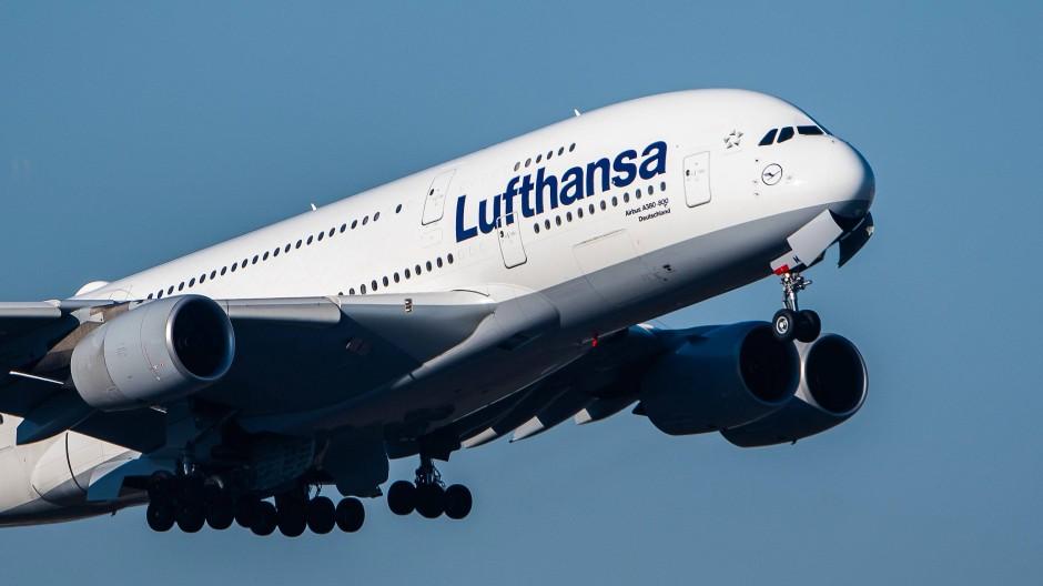 Ungewisse Zukunft: A380 der Lufthansa