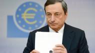 Draghi rechnet mit weniger Wachstum wegen Brexit