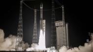 Europäische Satellitenstarts sind blockiert