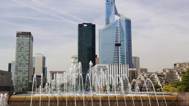 China misstraut französischen Banken