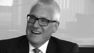 Klaus Harste, Vorstandsvorsitzender von Saarstahl