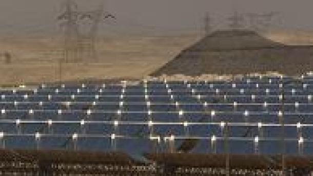 Desertec - Strom aus der Wüste