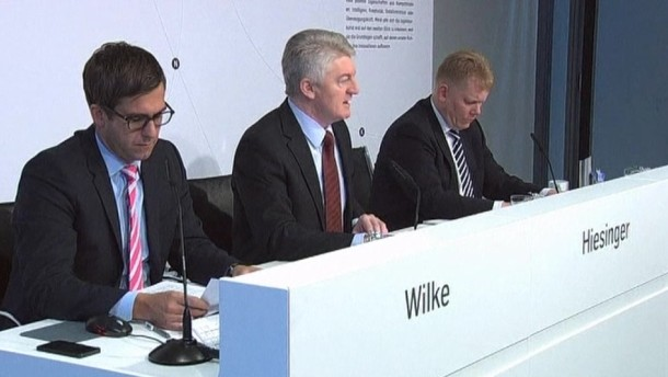 Auf der Billanz-Pressekonferenz hat Thyssen-Krupp-Chef Heinrich Hiesinger mit dem früheren Management des Stahlriesens abgerechnet.