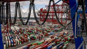 Der deutsch-britische Handel schrumpft