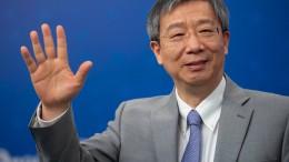 Zentralbankchef Chinas schließt Manipulationen der Währung aus