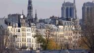 """Blick von der """"Pont des Arts"""" in Paris: Die Konsumfreude der Franzosen lässt die Wirtschaft wachsen."""