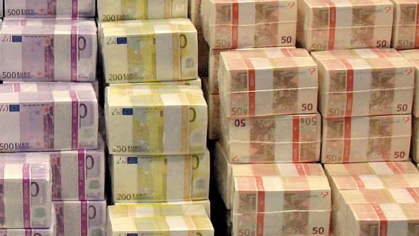 Bundesbank verleiht Euroscheine