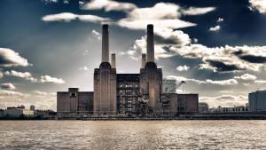 Das Luftschloss an der Themse