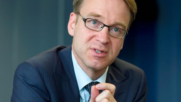 Jens Weidmann - Der neue Bundesbankpräsident trifft sich in der Bundesbank in Frankfurt zum Gespräch mit Stefan Ruhkamp.