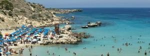Konnos Beach: Badefreuden unter der heißen Sonne Zyperns.