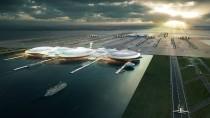 So futuristisch hätte der neue Flughafen aussehen sollen: die Terminals auf einer Computersimulation
