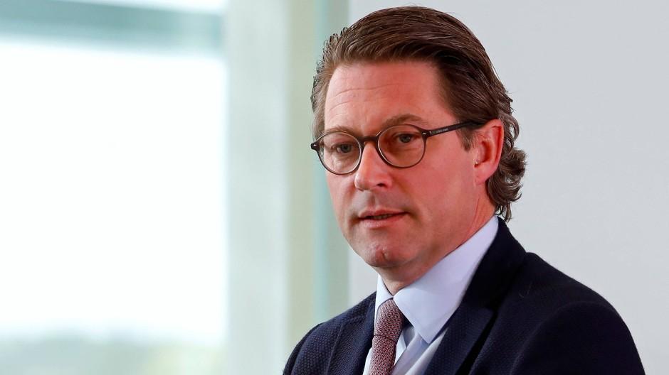 Bundesverkehrsminister Andreas Scheuer in Berlin