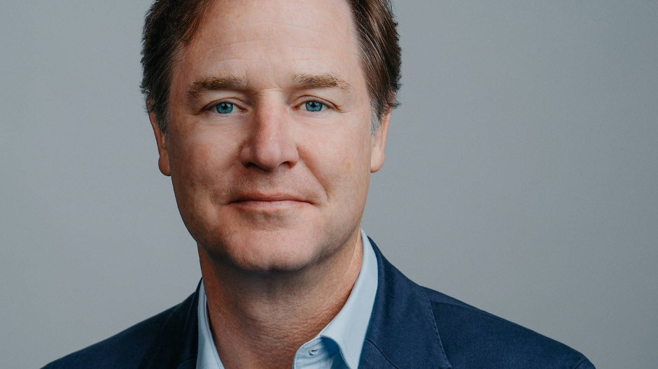 Nick Clegg ist Vice-President for Global Affairs and Communications bei Facebook.