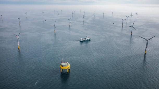 Windpark Global Tech I geht in Betrieb