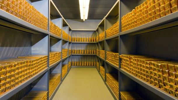 Bundesbank holt deutsches Gold heim