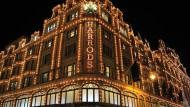 Gut beleuchtet: Kaufhaus Harrods in London
