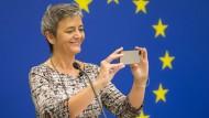 Mag das iPhone, aber nicht Apples Steuergestaltung: EU-Kommissarin Margrethe Vestager.