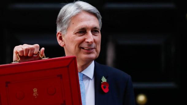 Finanzminister stellt Etat vor: Briten planen Digitalsteuer