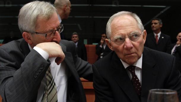 Juncker will zum Jahreswechsel als Eurogruppenchef aufhoeren