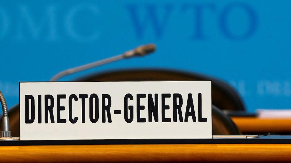 Der Posten des Generaldirektors bei der WTO bleibt vakant.