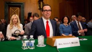 Trump will offenbar doch keine Banken aufspalten