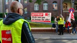 Pflegestreik könnte Operationen verhindern
