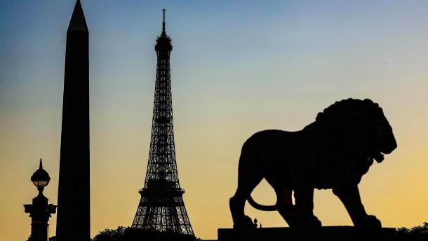 Herbststimmung an der Pariser Börse