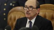Staatsanwalt Federico Cafiero, oberster Strafverfolger der italienischen Anti-Terror-Einheit spricht in Rom.
