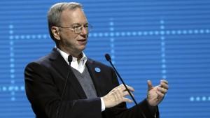 Google-Manager Eric Schmidt warnt vor China