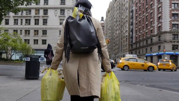 Plastiktüten kosten in New York künftig Geld