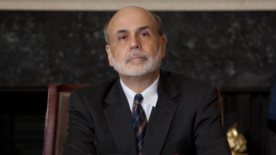 Mit Spannung wird die Rede des amerikanischen Notenbankchefs, Ben Bernanke, erwartet