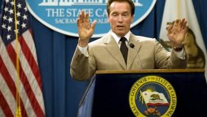 Schwarzenegger erklärt noch einmal Finanznotstand
