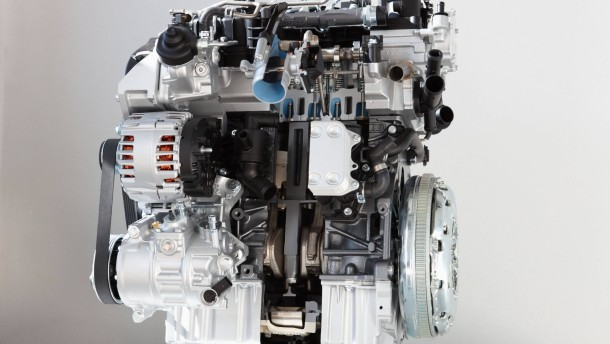 Ein moderner Dieselmotor