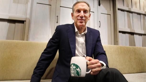 Starbucks-Chef wehrt sich gegen seine Waffenfreunde